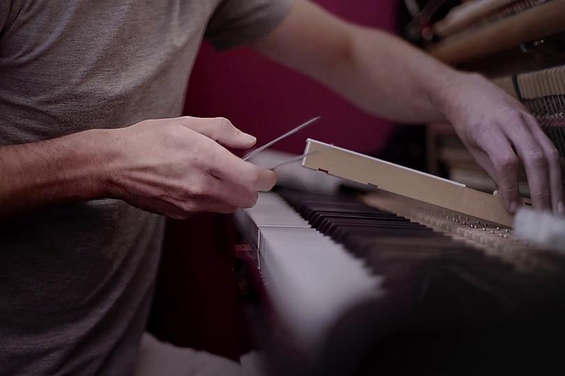 Correction du fonctionnement des touches du piano