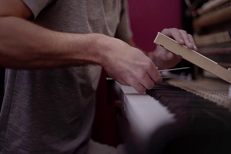 Optimisation jeu, toucher et sonorité, piano droit, piano à queue